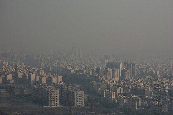 افزایش آلودگی هوا در البرز و تهران