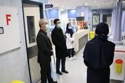 بازدید معاون دانشگاه آزاد اسلامی از بیمارستان امام سجاد(ع) واحد تبریز