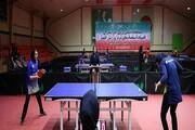 شروع رقابت بانوان دانشگاه آزاد در لیگ برتر تنیس
