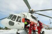مفقود شدن ۷ نفر بر اثر سقوط بهمن در ارتفاعات تهران