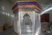 آخرین وضعیت ساخت ضریح مقام دست چپ حضرت ابوالفضل (ع)