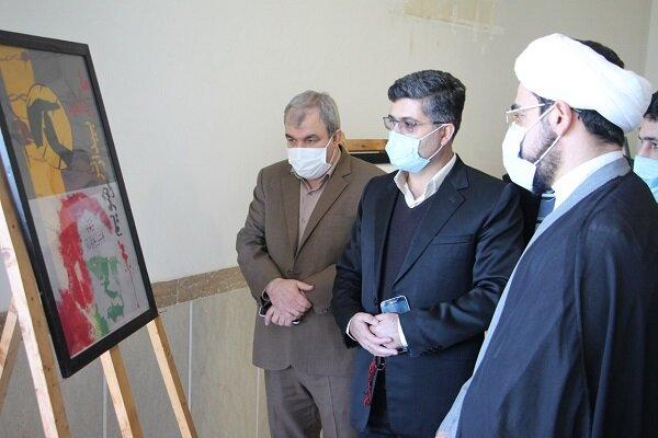 نمایشگاه دستاوردهای فرهنگی پژوهشی پاسداشت شهید فخری زاده