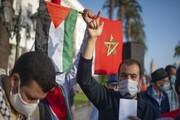 مردم مغرب در اعتراض به عادیسازی روابط با تلآویو تظاهرات کردند