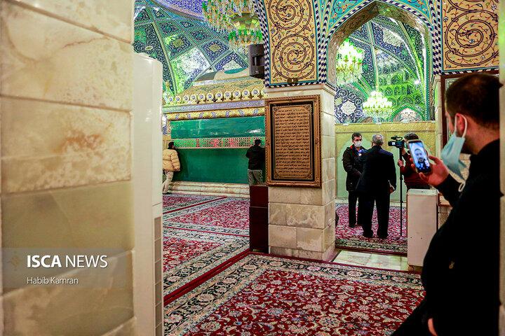 مراسم شهادت حضرت صدیقهی طاهره  در حرم حضرت رقیه