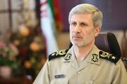 وزیر دفاع: برای تقویت قدرت پدافند هوایی کشور تلاش میکنیم