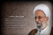 آثار علمی آیتالله مصباح یزدی موجب تقویت ارزشهای اسلامی شد