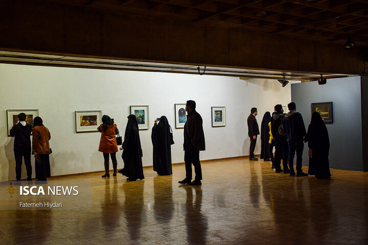 افتتاح نمایشگاه نقاشی «آل علی علیه السلام»