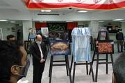 برپایی نمایشگاه نقاشی با موضوع شهید قاسم سلیمانی در واحد اصفهان