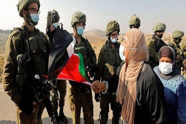 بازداشت شماری فلسطینی در حمله نظامیان صهیونیست به کرانه باختری