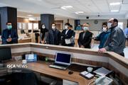 بازدید انستیتو صلح و رسانه افغانستان از مرکز رسانه و نشر علمی دانشگاه آزاد اسلامی