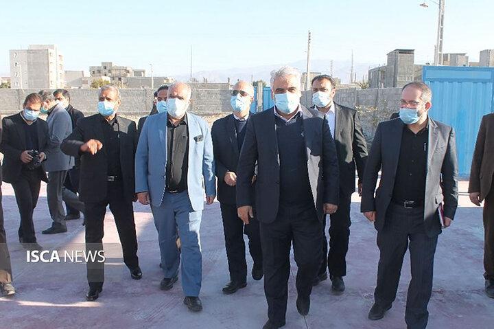 بازدید دکتر طهرانچی از دانشگاه آزاد اسلامی واحدهای رفسنجان، سیرجان و جیرفت