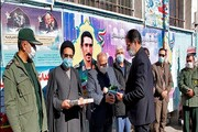 تجلیل از خانواده شهید محمد فاضل در مراسم شهدای دانشجوی واحد سبزوار