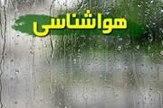 رگبار و رعدوبرق و وزش باد شدید موقت در ۸ استان