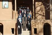 بازدید علمایی از زادگاه امام خمینی(ره) و دانشگاه آزاد اسلامی خمین