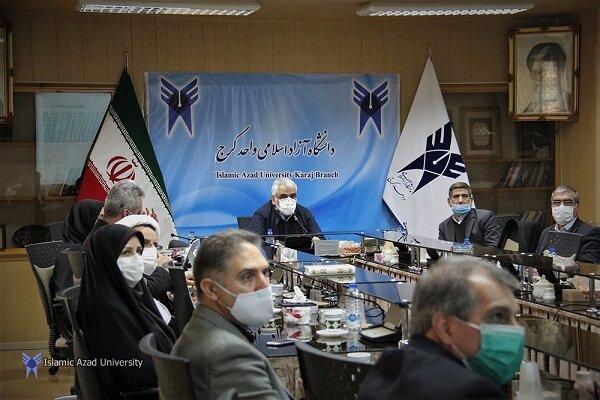 بازدید سرزده دکتر طهرانچی از واحد کرج دانشگاه آزاد اسلامی