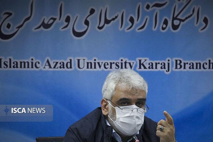 جلسه هیات رئیسه دانشگاه آزاد اسلامی واحد کرج به ریاست دکتر طهرانچی