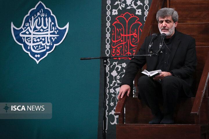 نخستین شب عزاداری فاطمیه در حسینیه امام خمینی