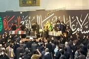 مراسم وداع با شهدای گمنام واحد تهران شمال برگزار شد