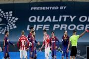 اولین کارت قرمز لیونل مسی با پیراهن بارسلونا