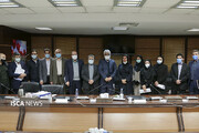 نشست صمیمانه جمعی از دانشجویان مقطع دکتری با رئیس دانشگاه آزاد اسلامی