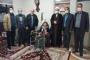 دانشگاهیان واحد انزلی با خانواده شهید عملیات کربلای ۵ دیدار کردند