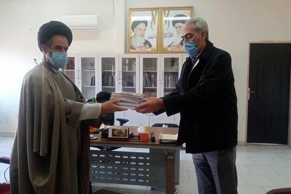 ۱۵ عنوان کتاب به دانشگاه آزاد اسلامی اهر اهدا شد