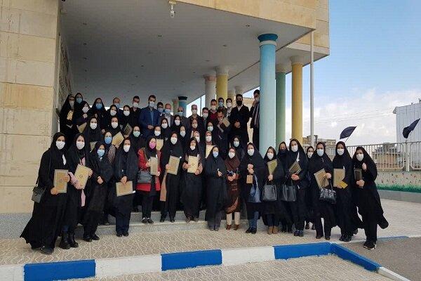تقدیر از دو معلم سمای بروجرد در جشنواره آموزگاران برتر