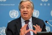 دبیرکل سازمان ملل خواستار حذف تحریمهای آمریکا علیه ایران شد