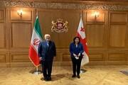 ظریف با رئیسجمهور گرجستان دیدار و گفتگو کرد