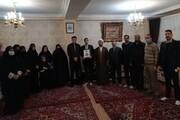 مراسم تجلیل از همسر شهید علی فرجپور برگزار شد