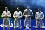 صدرنشینی مقتدرانه شمشیربازان دانشگاه آزاد اسلامی در لیگ کشور