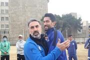 حمایت محمود فکری از سیدحسین حسینی+ عکس