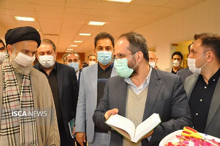 بازدید دکتر جهانبین از دانشگاه آزاد اسلامی واحد علی آباد کتول