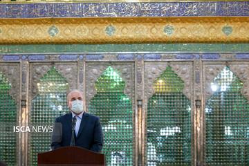مراسم تجدید میثاق نمایندگان مجلس یازدهم با آرمانهای امام (ره)