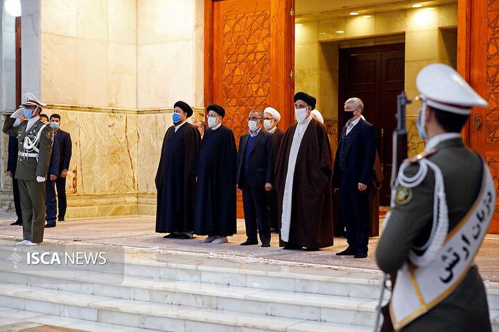 مراسم تجدید میثاق مسئولان قضایی با آرمانهای امام (ره)