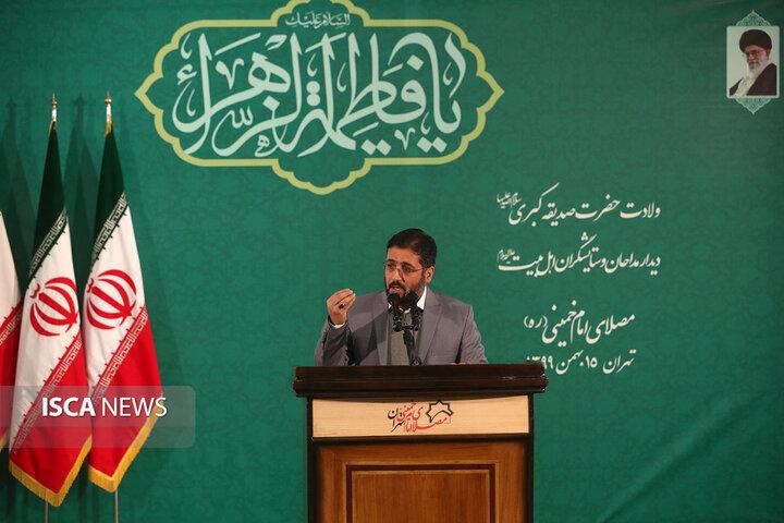 نشست تصویری مداحان اهلبیت (ع) با رهبر معظم انقلاب اسلامی