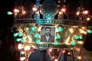 تصاویری از مراسم خاکسپاری علی انصاریان در بهشت زهرا