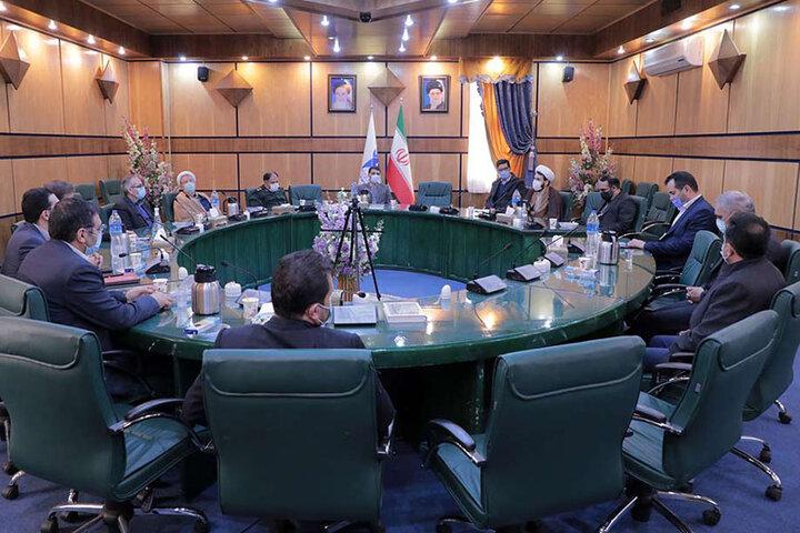 مراسم تکریم و معارفه مسئول بسیج کارکنان دانشگاه آزاد اسلامی قزوین