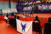 بانوان تنیس روی میز دانشگاه آزاد در سکوی دوم