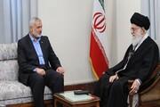 «اسماعیل هنیه» از رهبر معظم انقلاب اسلامی ایران قدردانی کرد