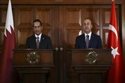 تاکید وزرای خارجه ترکیه و قطر بر تلاش برای حل مسائل ایران وآمریکا