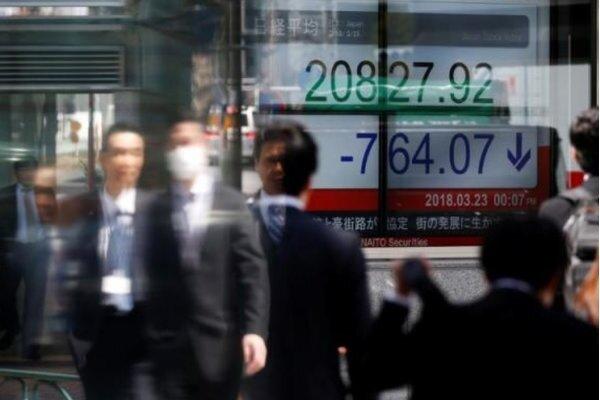 سهام آسیایی افت کرد