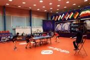 تساوی تیمهای تنیس روی میز مردان دانشگاه آزاد و شهرداری کرج