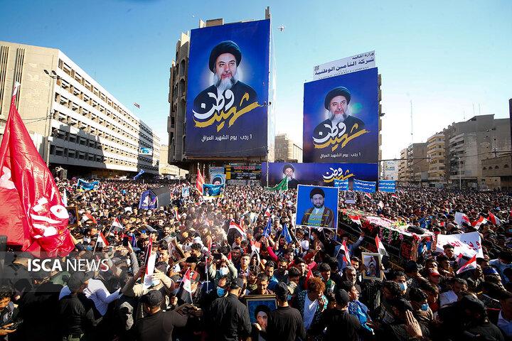 مراسم سالگرد شهید حکیم در بغداد