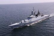 استقبال از ناوگروه روسی شرکت کننده در رزمایش دریایی اقیانوس هند