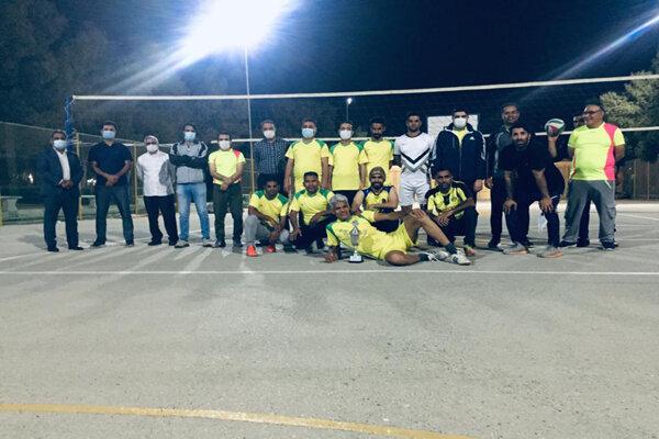 اختتامیه مسابقات فوتسال و والیبال در دانشگاه آزاد اسلامی بندرعباس