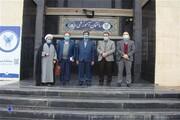 بازدید معاون فرهنگی و دانشجویی دانشگاه آزاد اسلامی از مرکز فریمان