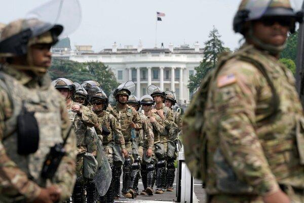 ۵ هزار نیروی گارد ملی در واشنگتن می مانند/احتمال حمله به کنگره