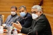 حضور بروجردی در جلسه شورای اداری دانشگاه آزاد اسلامی خراسان شمالی