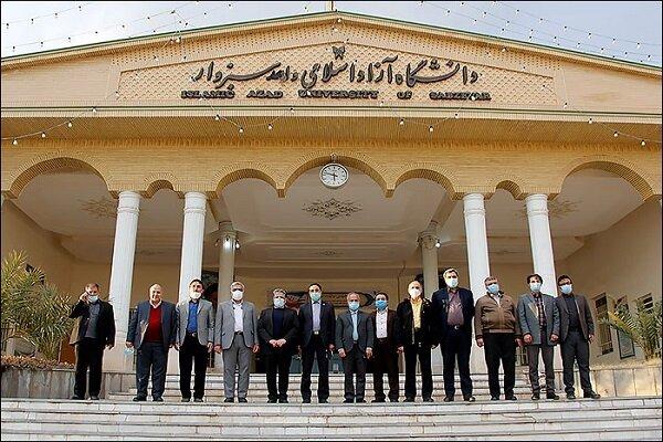 بازدید اعضای هیئت رئیسه دانشگاه آزاد اسلامی از واحد سبزوار